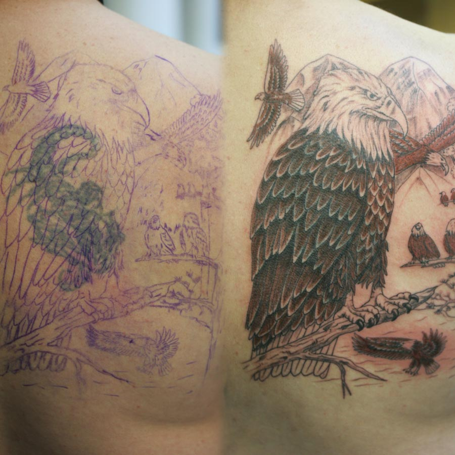 Creative Book Cover Up ~ Cover up tattoos creative tattooing western colorado